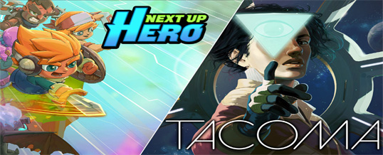Free Games on Epic Store:  Next Up Hero and Tacoma
