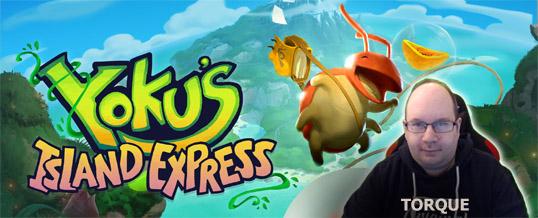 Free Game on Epic Store: Yoku's Island Express